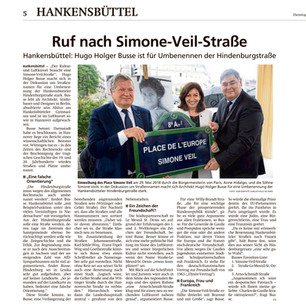 Allgemeine Zeitung »Simone-Veil-Straße«