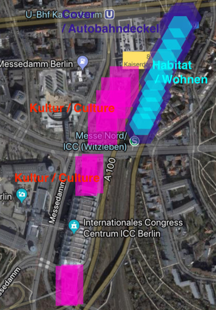 Berlin: Urban Density — Cultural and Living Zone, Urban Design, Urban Planning