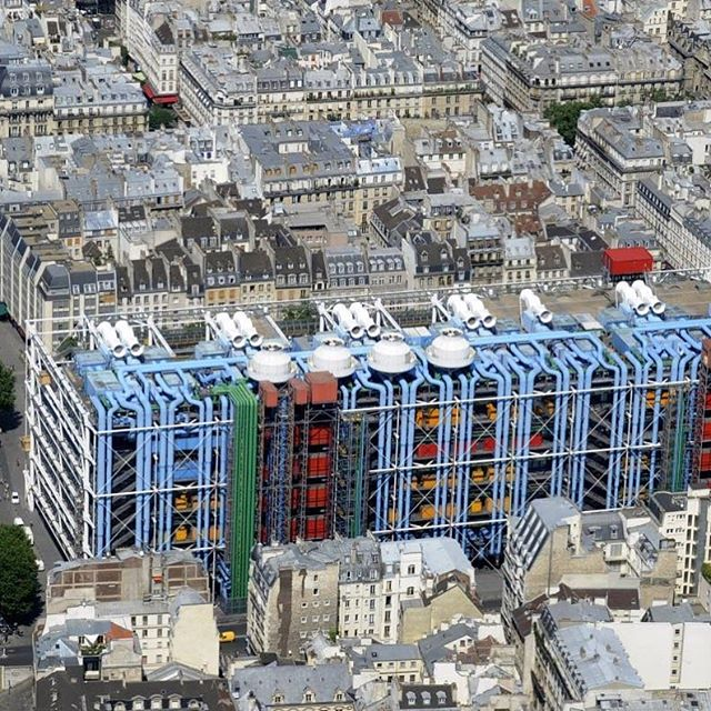 oh #beaubourg 💋🇪🇺❗️#newspaces for #berlin #centrepompidou