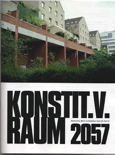 KONSTIT. V. RAUM 2057 —  IBA Berlin 1984/87 zum »Wohnen in der Innenstadt«