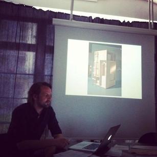 Hugo Holger Busse #Conference on #Space 2012, Design Academy Berlin