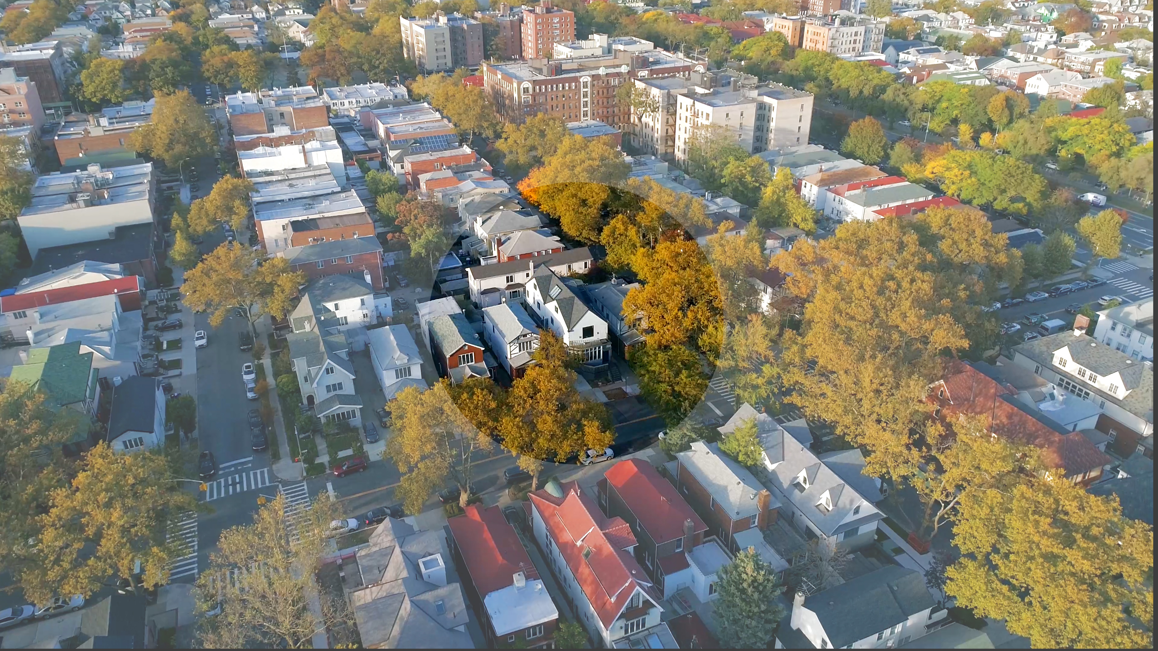 aerial_street view with viewcircle