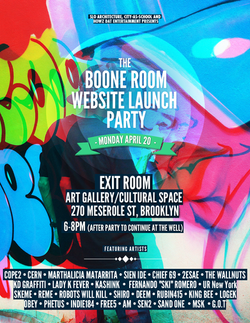 Boone Room launch