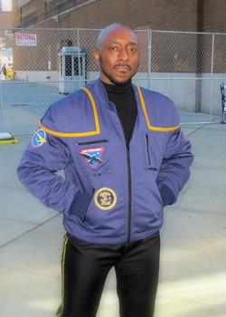 #NYCC - Jumping generations in the NX program flight jacket from Star Trek_ Enterprise