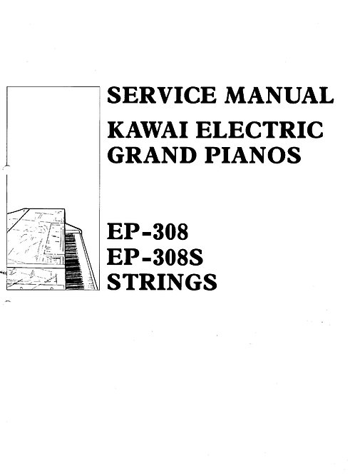 EP-308 / EP-308S Strings Service Manual