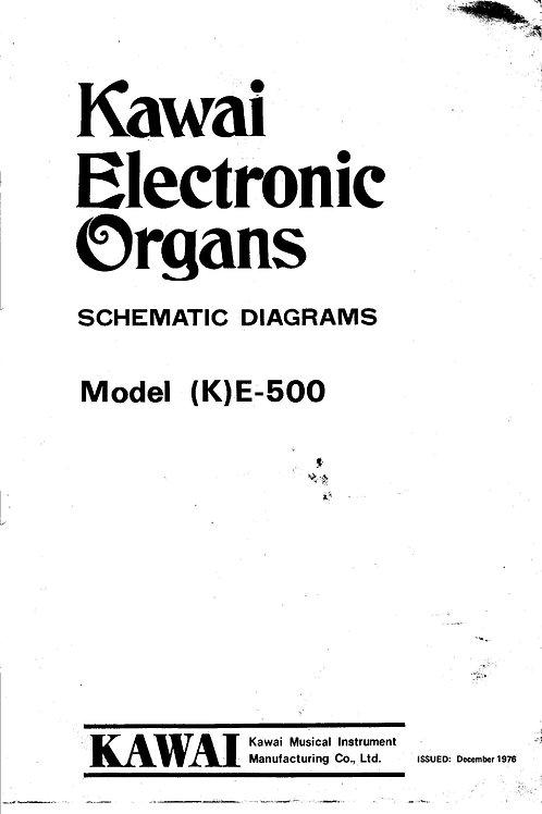 E500 Schematics