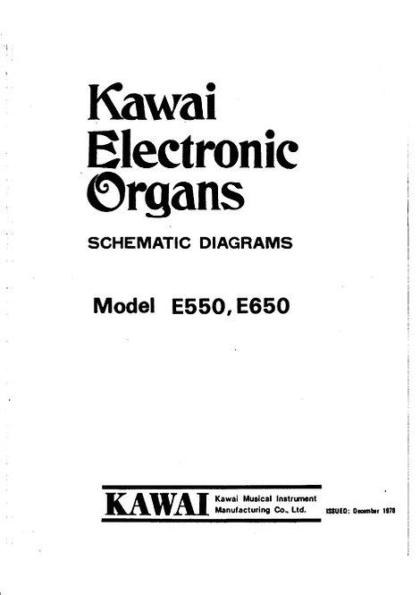 E550 / E650 Schematics