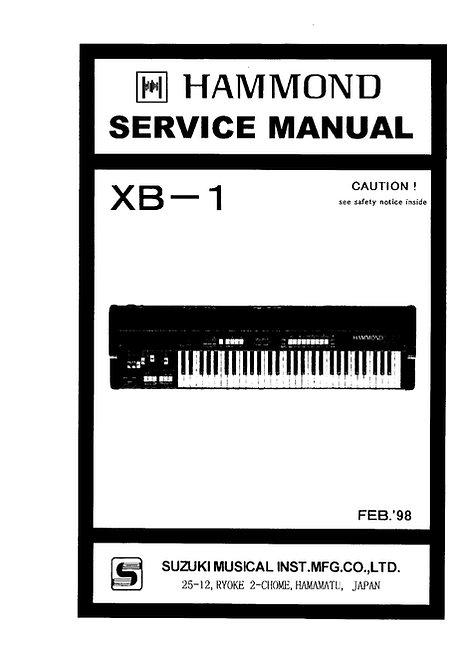 XB-1 Service Manual