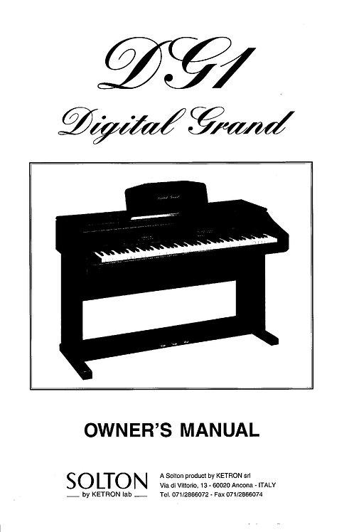DG1 Owners Manual
