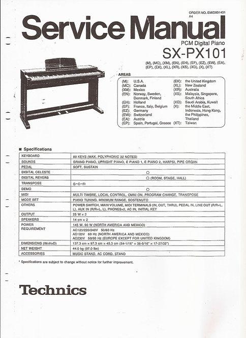 PX101 Service Manual