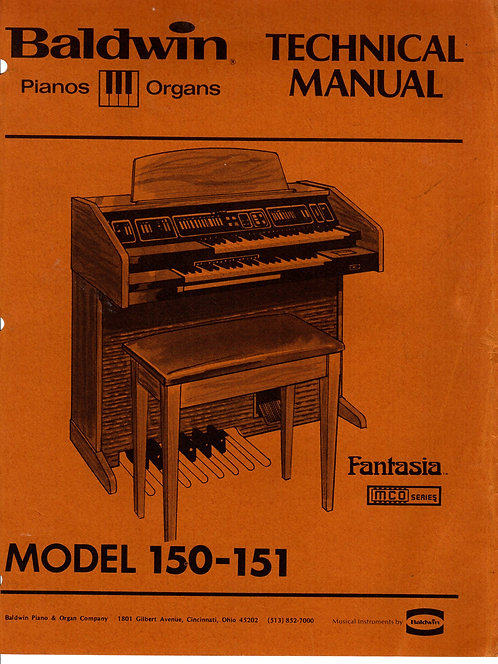 150 - 151 MCO Series Fantasia Service Manual