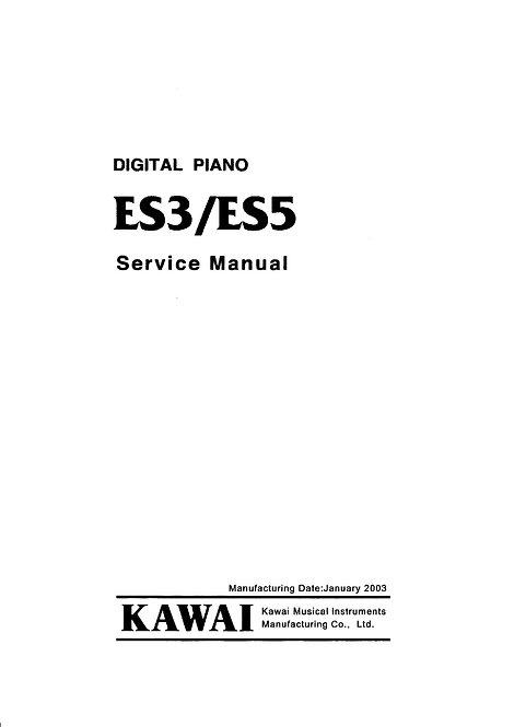 ES3 / ES5 Service Manual