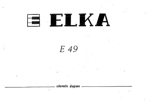 E49 Schematics