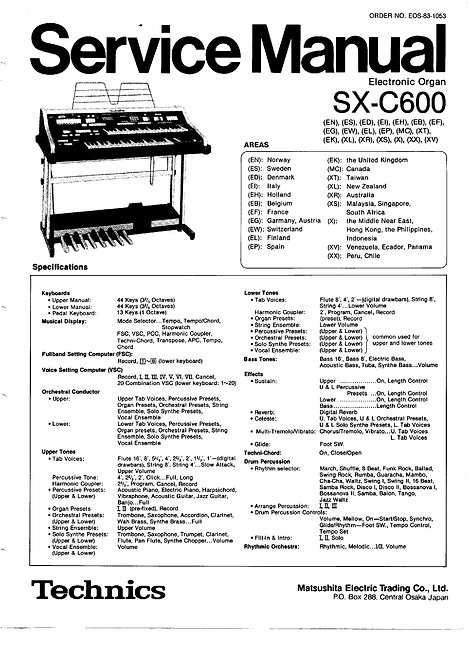 C600 Service Manual