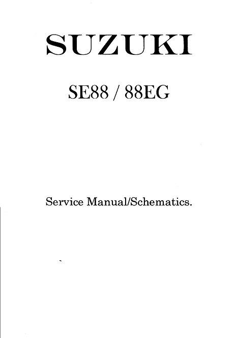SE88 / 88EG Schematics