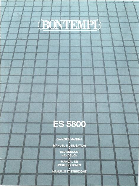 ES5800 Owners Manual
