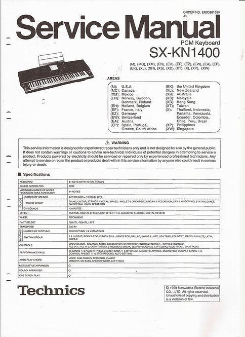 KN1400 Service Manual