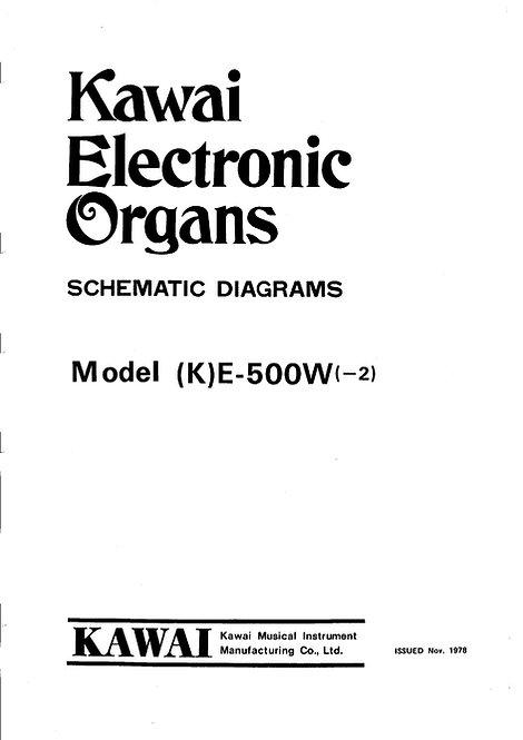E500W Schematics