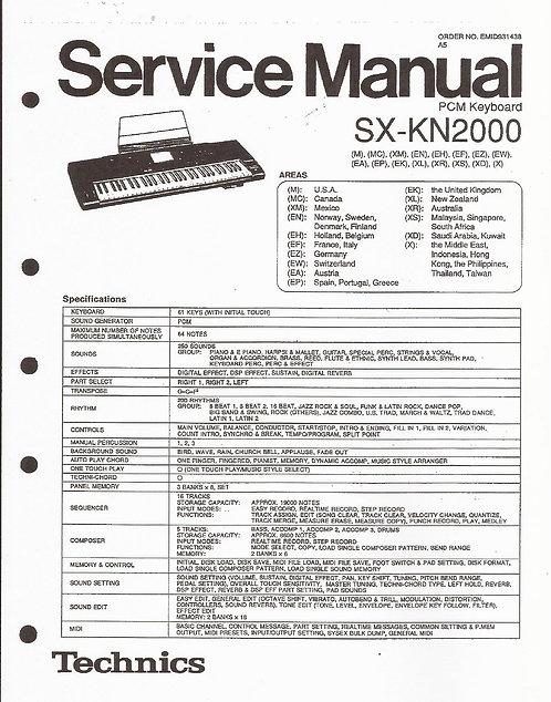 KN2000 Service Manual