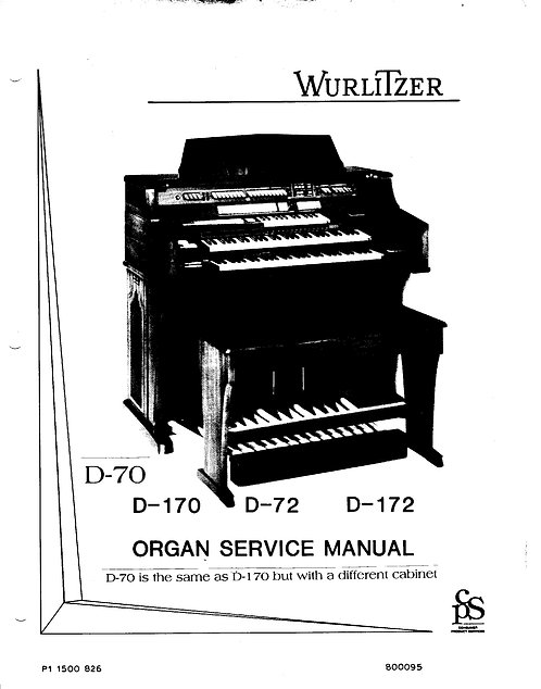 D70 / D170 / D72 / D172 Service Manual