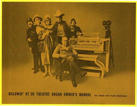 HT2R  Theatre Organ Owners Manual