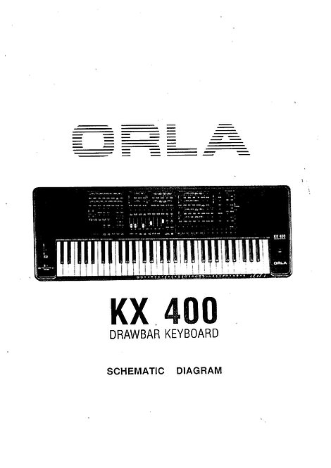 KX 400 Service Manual