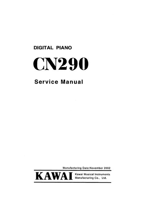 CN290 Service Manual