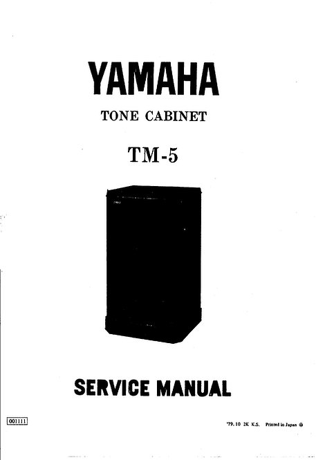TM-5 Service Manual