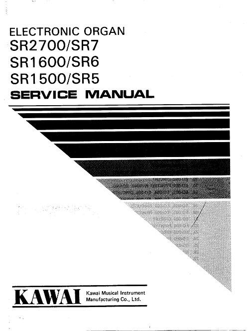 SR5 / SR6 / SR7 Service Manual