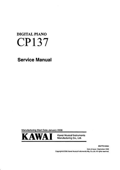 CP137 Service Manual