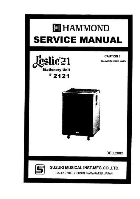 2121 Service Manual