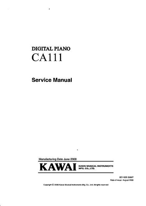 CA111 Service Manual