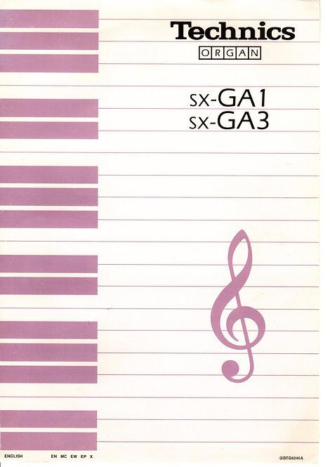 GA1 / GA3 Owners Manual