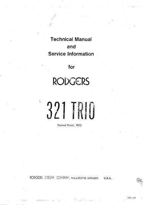 321 Trio Service Manual
