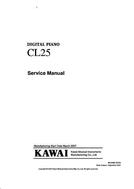 CL25 Service Manual