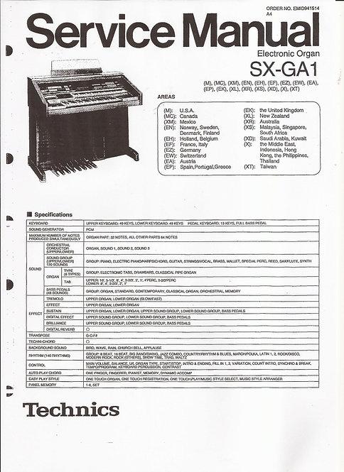 GA1 Service Manual