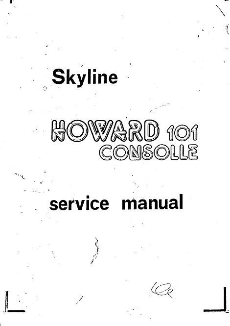Howard 101 Skyline Schematics