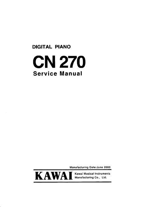 CN270 Service Manual