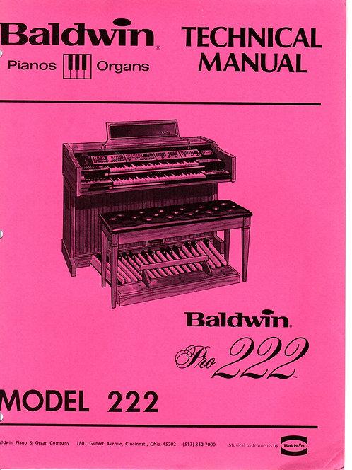 222 Pro Service Manual