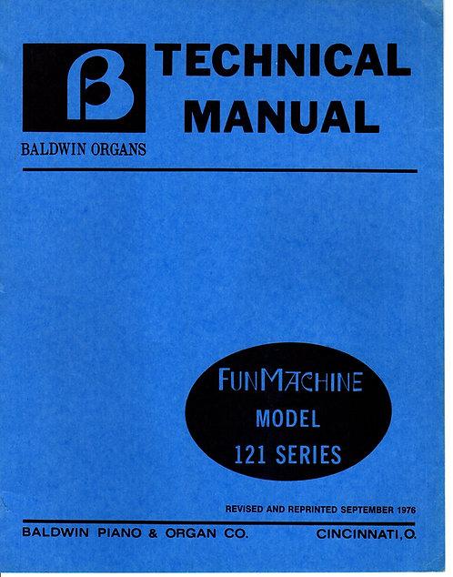 121 Series Fun Machine Service Manual