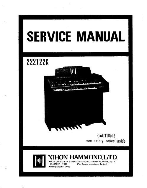 222122K Service Manual