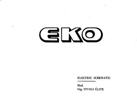 Tivoli Elite Schematics