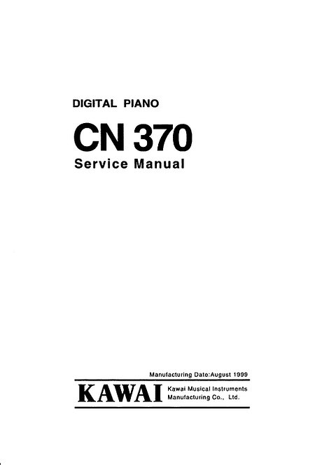 CN370 Service Manual