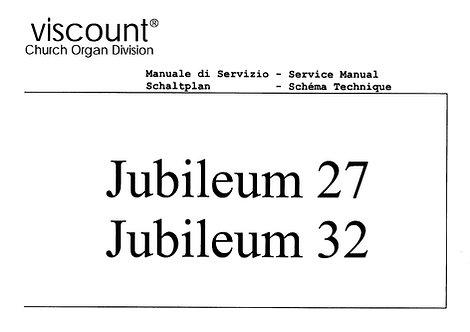 Jubileum 27 / 32 Service Manual