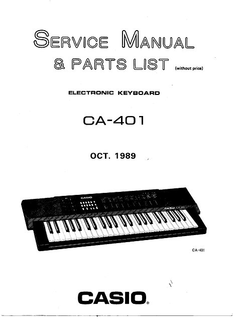 CA-401 Service Manual