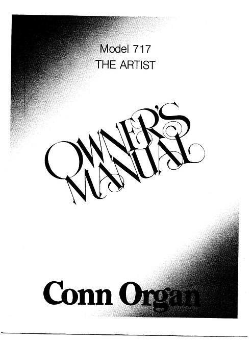 717 The Artist Owners Manual