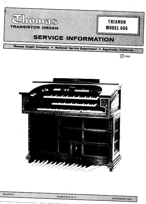 606 Trianon Service Manual