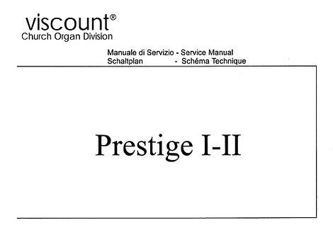 Prestige I-II Service Manual