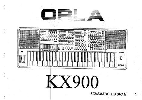 KX 900 Service Manual