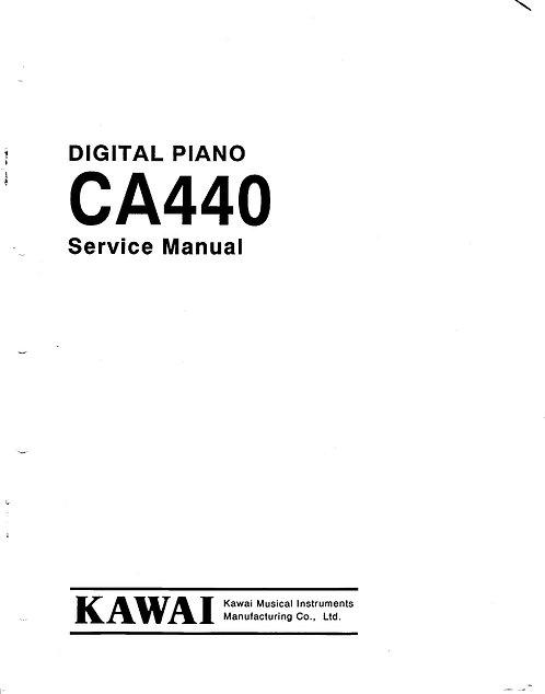 CA440 Service Manual